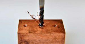 Gewindeschneiden mit Bohrmaschine