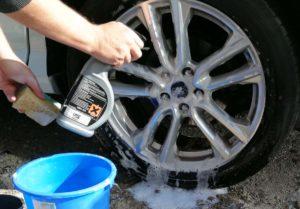 Aufbereitete Leichtmetallfelgen gehören zur optischen Wertsteigerung am Fahrzeug.