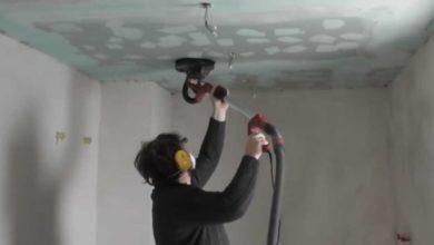 Bild von Rigips schleifen – Anleitung für Wände und Decken