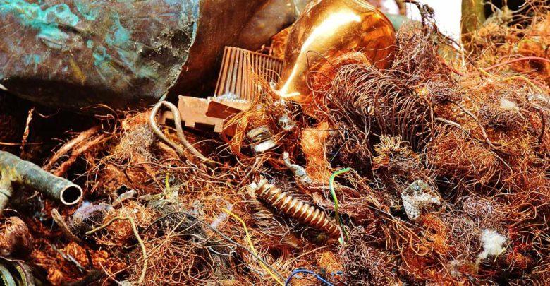 Schrottpreis für Kupfer, Alu und Messing