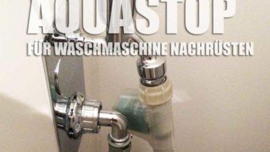 Bild von Vollwasserschutz – Mehrfachwasserschutz bzw. Aquastop nachrüsten