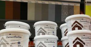 Betonfarbe für innen und außen als Bodenbeschichtung