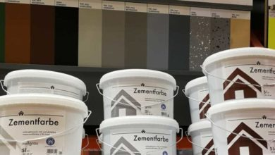 Bild von Betonfarbe – Wasserdichte Beschichtung mit Bodenfarbe