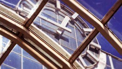 Bild von Vordach mit Wellplatten bauen