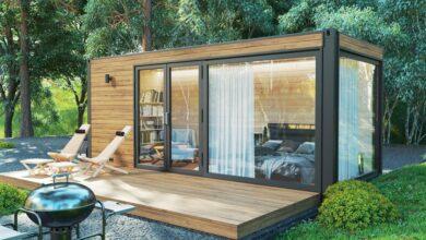 Bild von Der Ratgeber zum DIY-Gartenhaus: ein Fundament ohne Beton für ein Gartenhaus aus Holz