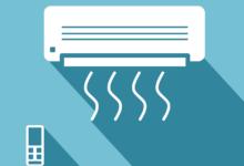 Bild von Klimaanlage ohne Abluftschlauch