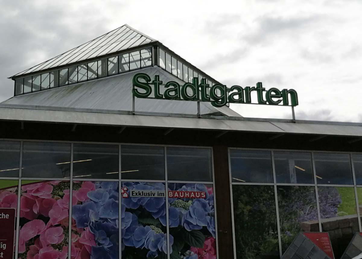Das Gartenressort nennt man bei Bauhaus